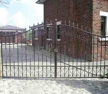 double driveway gates blackpool