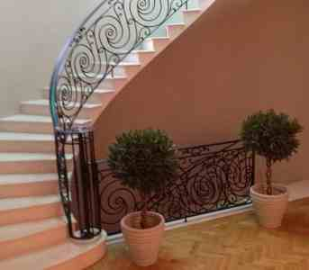 Ornate Steel balustrade